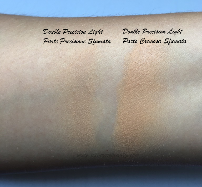 nascondino double precision neve cosmetics light swatch sfumato