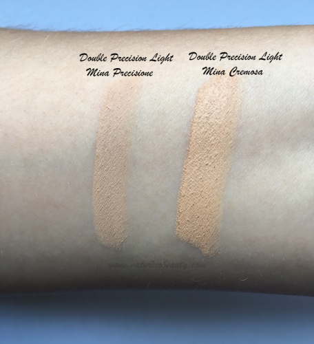 nascondino double precision neve cosmetics light swatch