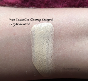 Review Neve Cosmetics Creamy Comfort Colorazioni