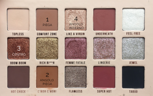 Makeup con la In My Birthday Suit Palette Mulac