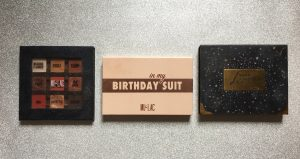 In My Birthday Suit Palette Mulac Confronto Packaging