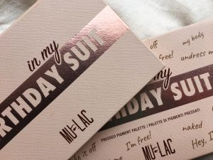 In My Birthday Suit Palette Mulac Packaging